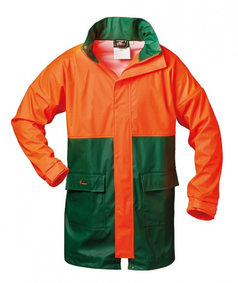 NORWAY PU-Stretch Forst-Regenjacke Pappel