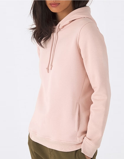 B&C Organic Hooded Sweat Women