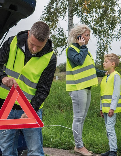Korntex Car Safety Vest Family Pack EN ISO 20471