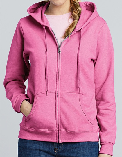 Gildan Heavy Blend™ Ladies Full Zip Hooded Sweatshirt