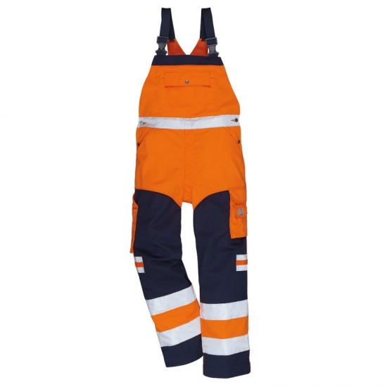 Kansas High Vis Latzhose light
