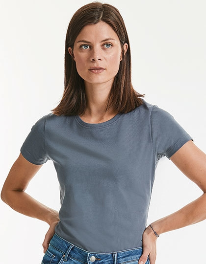 Russell Ladies` Pure Organic Heavy Tee