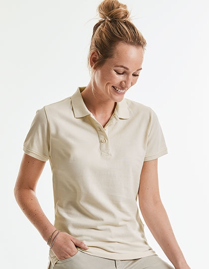 Russell Ladies` Pure Organic Polo