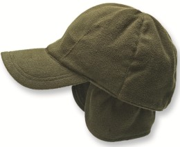 Elutex Wende-Fleece-Cap Hunter