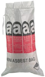 MINI-ASBESTBAG 70 x 110 cm