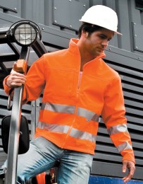 Result High-Viz Soft Shell Jacket