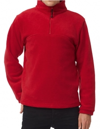 B&C Half Zip Fleece Highlander + Men