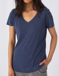 B&C V-Neck Triblend T-Shirt Women