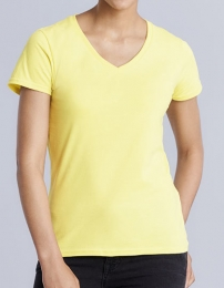 Gildan Premium Cotton® Ladies V-Neck T-Shirt