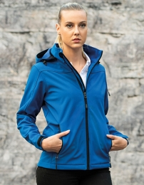 HRM Women's Hooded Soft-Shell Jacket