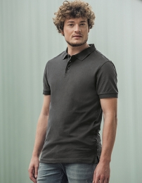 HRM Herren Heavy Stretch Polo