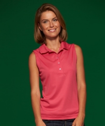 James & Nicholson Ladies Active Polo Sleeveless