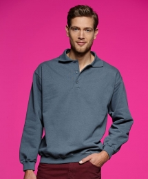 James & Nicholson Polo Sweat Heavy