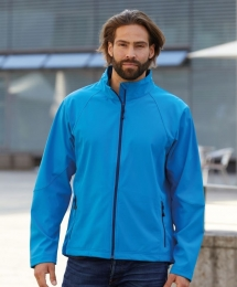James & Nicholson Men`s Softshell Jacket