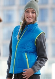 James & Nicholson Ladies Padded Light Weight Vest