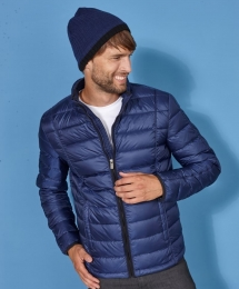 James & Nicholson Men`s Quilted Down Jacket