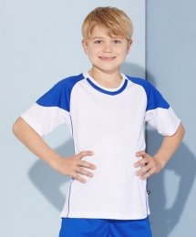 James & Nicholson Kids Team Kontrast Shirt