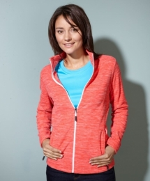 James & Nicholson Ladies` Fleece Jacket