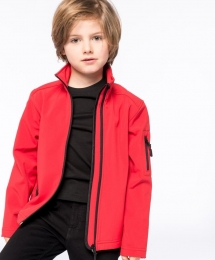 Kariban Kinder Softshell Jacke