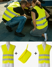 Korntex Car Safety Vest Double Pack EN ISO 20471