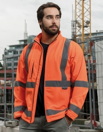 Korntex Hi-Vis Softshelljacket