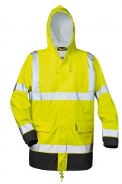 NORWAY Warnschutz PU-Stretch Regenjacke MANFRED