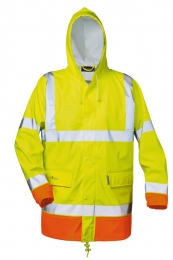 NORWAY Warnschutz PU-Stretch Regenjacke NORMAN