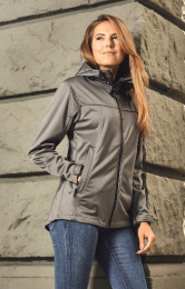 promodoro Women's Hoody Softshell Jacket