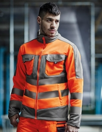 Regatta Hi-Vis Extol Stretch F/Z Jacket