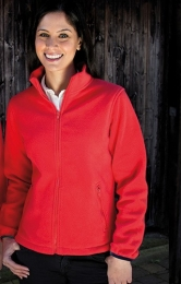 Result Ladies` Fashion Fit Outdoor Fleece Jacket