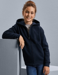Russell Kids Authentic Zipped Hooded Sweat