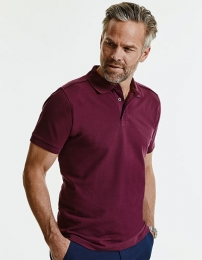 Russell Men`s Tailored Stretch Polo