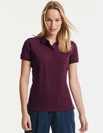 Russell Ladies Tailored Stretch Polo