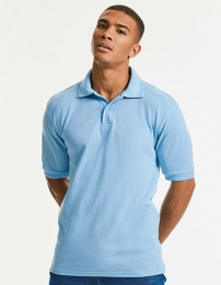 Russell Hardwearing Polycotton Polo
