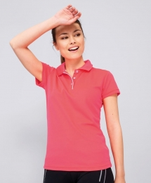 SOL'S Womens Sports Polo Shirt Performer