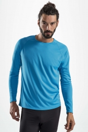 SOL'S Mens Long-Sleeve Sports T-Shirt Sporty
