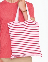 SOL'S Striped Jersey Shopping Bag Luna