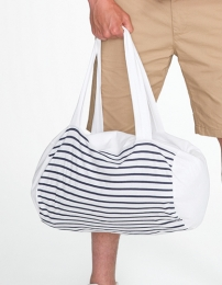 SOL'S Striped Jersey Duffel Bag Sunset