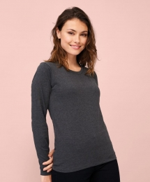 SOL'S Womens Long-Sleeve T-Shirt Imperial