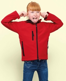 SOL'S Kids` Hooded Softshell Jacke Replay