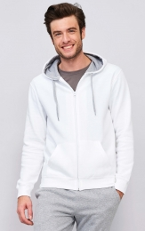 SOL'S Contrasted Zipped Hooded Jacket Soul Men