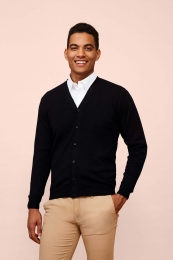 SOL'S Golden Men V-Neck Knitted Cardigan