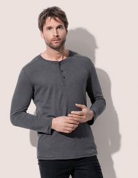 Stedman Shawn Henley Long Sleeve T-Shirt for men