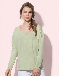 Stedman Sharon Oversized Slub Long Sleeve for women