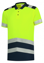 TRICORP Polo-Shirt High Vis Bicolor T20