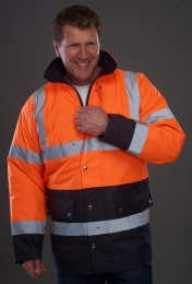 YOKO High Visibility Two-Tone Motorway Jacket